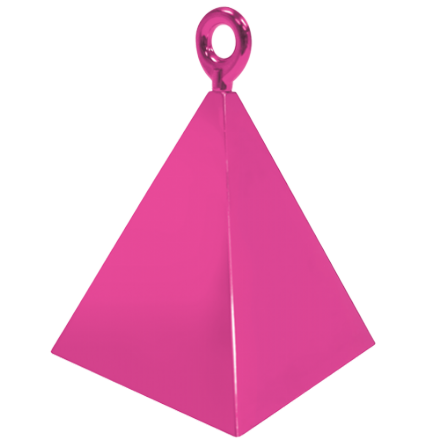 Magenta Pyramid Weight